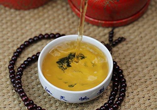 Grade A 2000 Gramm Pu Erh unfermentierter schwarzer Tee in Bambuskorbverpackung