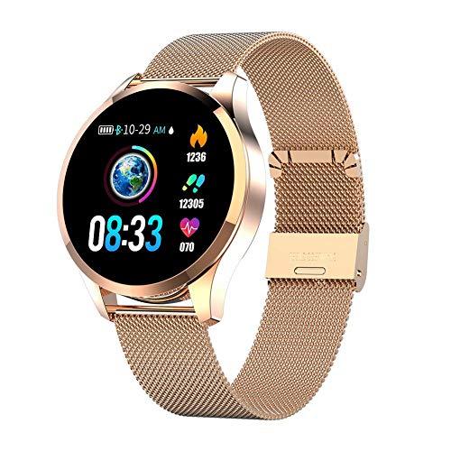 Teabelle Smartwatch Pantalla a Color Mujer Presión Arterial Monitor d