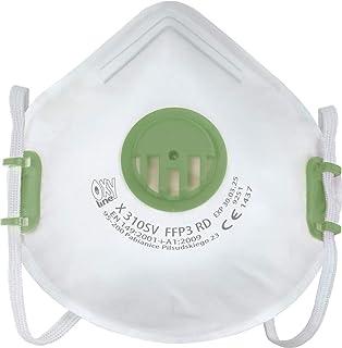 Oxyline X 310 SV FFP3 R D adembeschermingsmasker, mondkapje, stofmasker, mondmasker, infectieveilig, herbruikbaar bescherm...