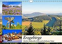 Erzgebirge - Reiches kulturelles Erbe und erholsame Natur (Wandkalender 2022 DIN A4 quer): Eine fotografische Reise ins saechsische Erzgebirge (Monatskalender, 14 Seiten )