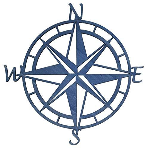 Kompass | Himmelsrichtungen | Nord | Süd | Ost | West | Wandbild aus Holz | verschiedene Größen und Farben | Variante 2 | Qualitätsprodukt |