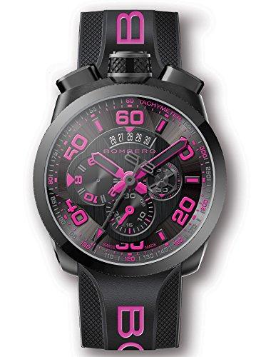 Bomberg BS45GMTPBA.026.3 Bolt-68 collection Uhren - Swiss Made - 45 mm - Convertible taschenuhren …