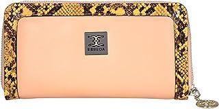 ESBEDA Light Orange Color Printed Animal Textured Wallet For Women