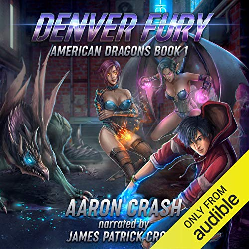 Couverture de Denver Fury: An Urban Fantasy Harem Adventure