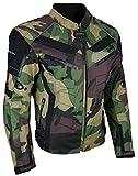 HEYBERRY Motorrad Jacke Motorradjacke Camouflage Woodland Gr. XL