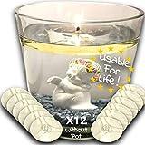 Eco Candle Flotante Vela Eterna 100% Invisible - Reutilizable de por vida - Ilumina su decoración -...