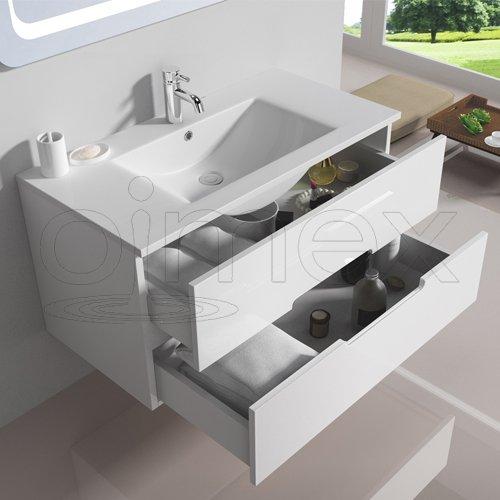 "oimexgmbh Design Badmöbel Set ""Tiana"" kaufen  Bild 1*"