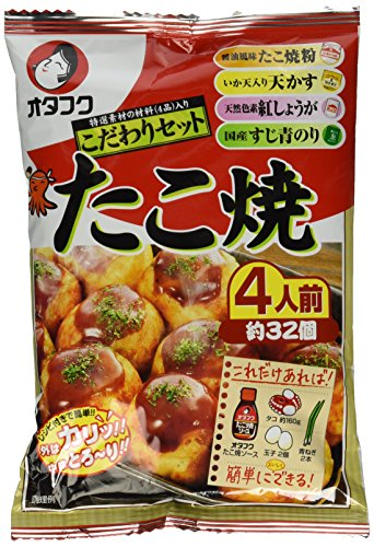 Takoyaki Kit / for 4 People (About 32p) by Otafuku (1)