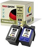 Pack de 2 XL TONER EXPERTE Cartuchos de Tinta compatibles con HP 27 HP 28 C8727AE C8728AE para HP Officejet 4215 PSC 1110 1210 1215 1315 Deskjet 3320 3325 3420 3535 3550 3650 5650 5850 (Negro, Color)