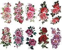 [THE FANTASY (ファンタジー)] タトゥーシール 薔薇 [10種10枚]set302