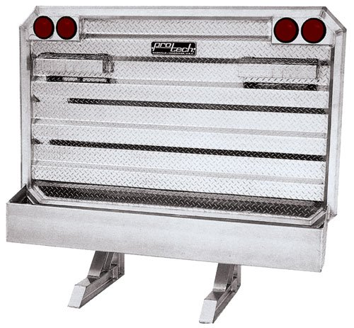 Deluxe Cab Rack - Standard Cab Rack - 2 Chain Hangers - Full Chain Tray - by ProTech