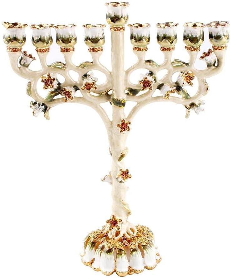 Weekly update NEW before selling bangong Menorah Candelabra Candle Star Hanukkah Hold Candlestick