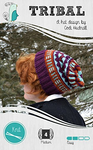 Tribal Colorwork Knitted Beanie Hat Pattern (Hipster's Delight Book 1) (English Edition)