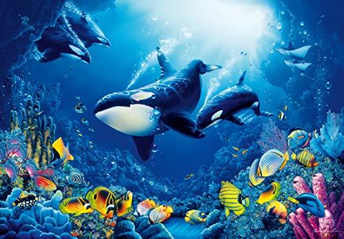Fotobehang Onderwater wereld - 366 x 254 cm Slaapkamer