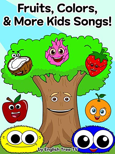 Fruits Colors Shapes amp More Kids Songs by English Tree TV
