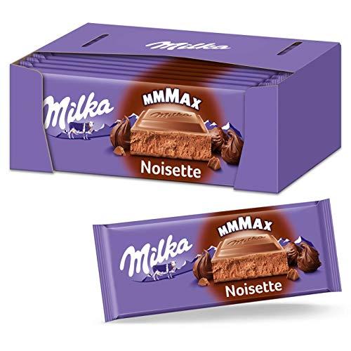 Milka Noisette 16 x 270g Großtafel, Zartschmelzende Schokoladentafel mit cremig-nussiger Noisette