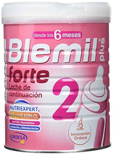 Blemil Plus Forte 2  Leche de continuación para bebé, 1 unidad 800 gr. A partir de 6 meses.