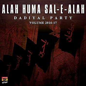 Alah Huma Sal E Alah, Vol. 2016-17