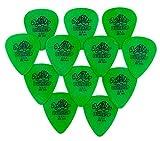 Jim Dunlop, modello Tortex-Plettro chitarra, 0,88 mm, confezione da 12 pezzi)