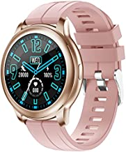OUFUNI Smart Watch for Android and iOS Phones with Call Function, Fitness Activity Tracker with Heart Rate Monitor, Blood Pressure, Information Reminder, IP67 Waterproof Smartwatch for Men Women