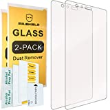 [2-Pack]-Mr.Shield for Huawei P9 Plus [Tempered Glass] Screen Protector [0.3mm Ultra Thin 9H Hardness 2.5D Round Edge] with Lifetime Replacement