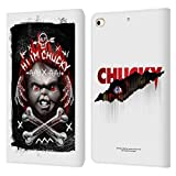 Head Case Designs Officiel Child's Play Hi I'm Chucky Grunge Art Clé Coque en Cuir à Portefeuille...