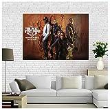 MGSHN Black Eyed Peas Bild Poster Kunst Poster Kunstwerk