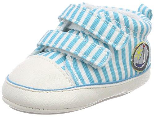 Sterntaler Baby-Schuh, Mocasn, Turquesa, 17/18 EU