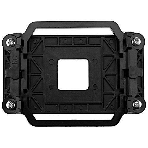 D2D Negro plástico CPU enfriador refrigeración retención ventilador disipador de calor soporte soporte soporte base para AMD zócalo AM3 AM2 940 placa base