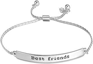 comprar online b265b fbbcc Amazon.es: pulseras de amistad - Hombre: Joyería
