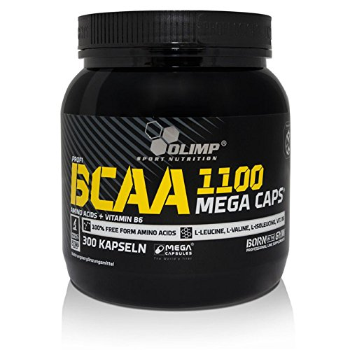 Olimp BCAA Mega Caps 1100, 300 Kapseln, 1er Pack (1 x 384 g) by Olimp