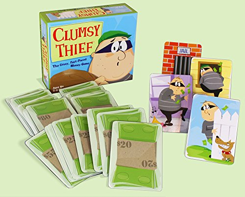Melon Rind Clumsy Thief Money Game - Adding to 100 Math Game for Kids (Ages 8 and up)
