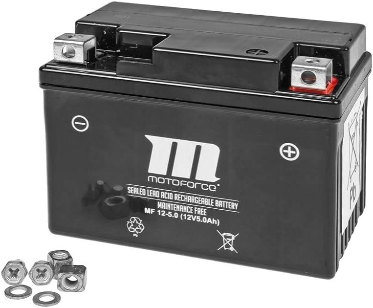 Batterie Motoforce, 12V 5Ah, wartungsfrei, zzgl. 7,50 EUR Pfand