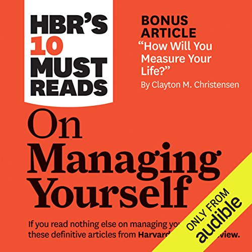 HBR's 10 Must Reads on Managing Yourself audiobook cover art