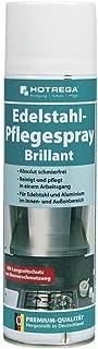 Hotrega H130920 Edelstahl-Pflegespray - Brillant Reinigungsmittel 500 ml