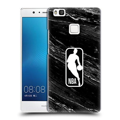 Head Case Designs Oficial NBA Mármol Blanco y Negro Logoman Carcasa rígida Compatible con Huawei P9 Lite / G9 Lite