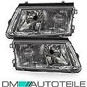DM Autoteile 2x Passat 3B B5 Scheinwerfer Set Klarglas Chrom +Nebel H7/H4 96-00 + GARANTIE