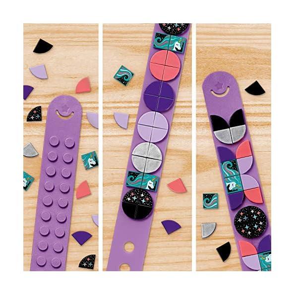 LEGO-Dots-Kit-Braccialetto-Scintillante-con-Fascia-Regolabile-con-32-Applicazioni