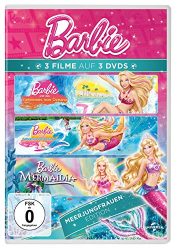 Barbie - Meerjungfrauen Edition [3 DVDs]