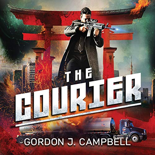The Courier Audiobook By Gordon J. Campbell cover art