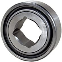 Peer Bearing W211PP5 Agriculture Heavy Duty Disc Harrow Bearing, Square Bore, Non-Relubricable, Two Triple Lip Seals, 1.5