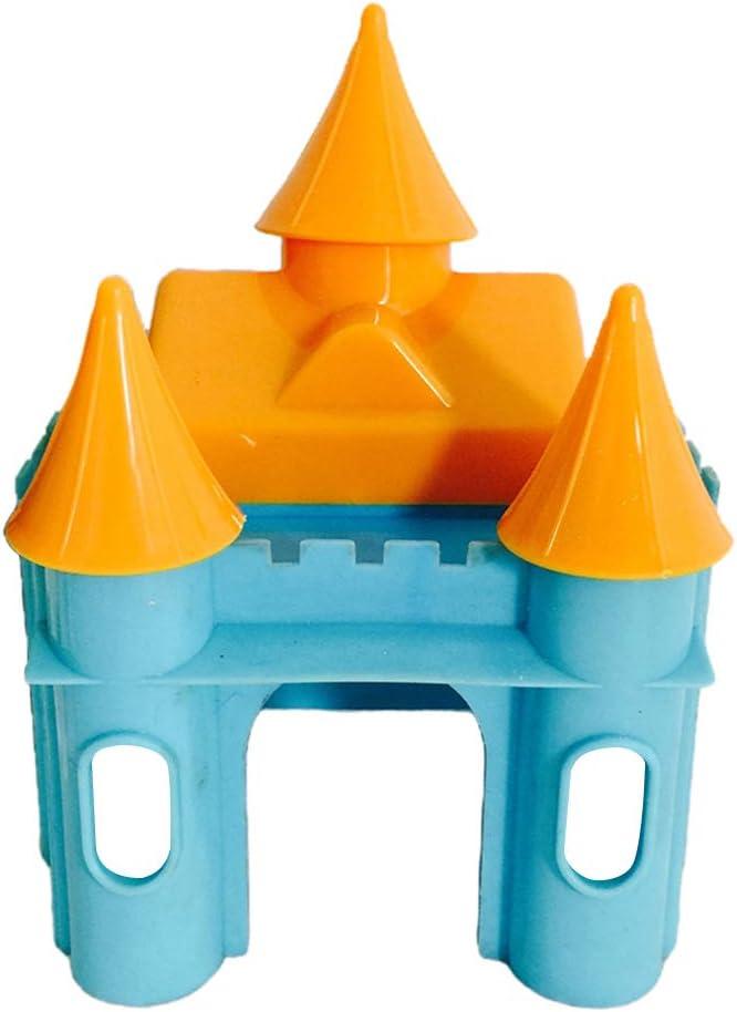 11x10x15cm LOVIVER Hamster Hedgehog Guinea Pig Castle House Small Animals Exercise Toys Blue