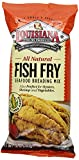 Louisiana Fish Fry Products Natural Fish Fry, New Orleans Style, 10-Ounce Bags (Pack of 12)