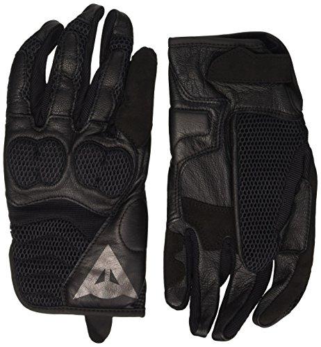 Dainese-AIR MIG Handschuhe, Schwarz/Schwarz/Schwarz, Größe M