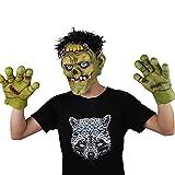 Photo de GJ-RNG Accessoires d'halloween, Mascarade Habiller Masque Mis Bar Culture De Fête De Danse Soirée par