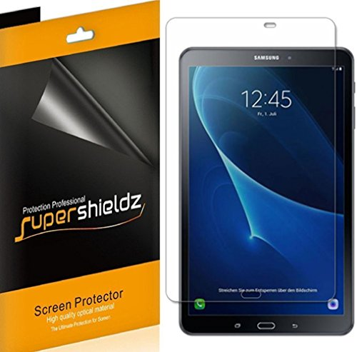 (3 Pack) Supershieldz Anti Glare and Anti Fingerprint (Matte) Screen Protector for Samsung Galaxy Tab A 10.1 inch (SM-T580 Model and SM-T587 Model, 2016 Release)