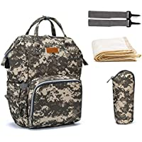 Vbg Vbiger Camo Diaper Bag Backpack