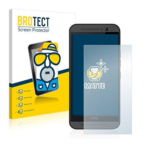 BROTECT 2X Entspiegelungs-Schutzfolie kompatibel mit HTC One M9 Bildschirmschutz-Folie Matt, Anti-Reflex, Anti-Fingerprint