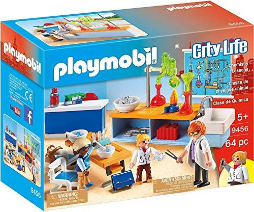 PLAYMOBIL City Life Clase de Química, a Partir de 5 Años (9456) , color/modelo surtido