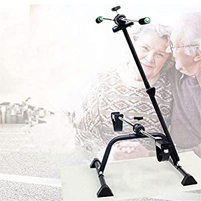 DLQ Stationary Bike Pedal Exercisers,Adjustable Exercise Pedal for Physiotherapy Body Exercise Height Bicycle Physical Therapy Machine for Indoor Seniors and Elderly 325